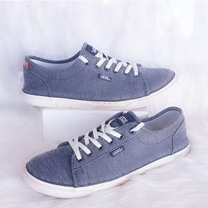 ❤4 for $25❤  Vans Denim Blue Sneakers 7.5 Shoes